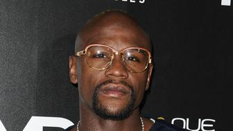 LOS ANGELES, CA - JULY 14:  Floyd Mayweather Jr. attends the launch of OUE Skyspace LA at U.S. Bank Tower on July 14, 2016 in Los Angeles, California.  (Photo by Jason LaVeris/FilmMagic)