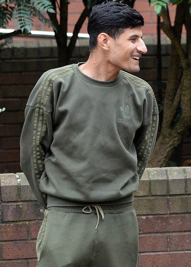 Takeaway owner Bashir Ahmadzai, 22, outside Birmingham Crown Court where he was jailed for two years...