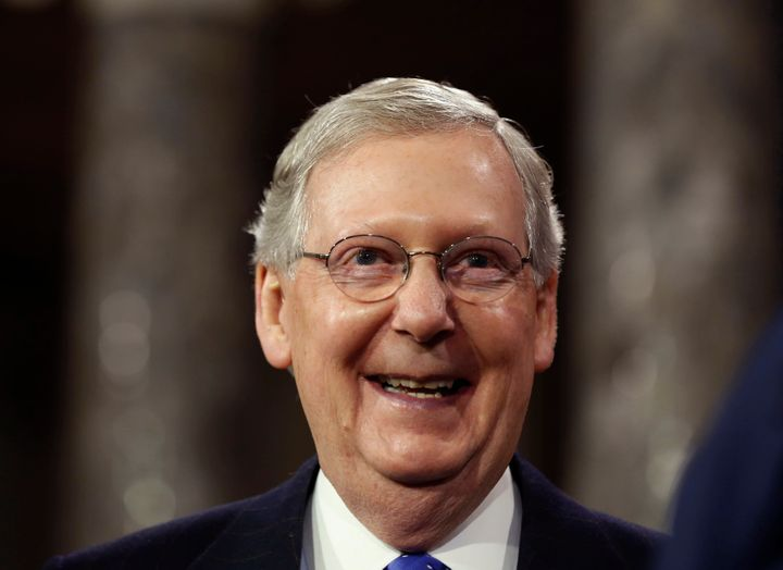 Sen. Mitch McConnell (R-Ky.) endorsed Donald Trump for president in May. In a bizarre coincidence, he lost his ability to tal