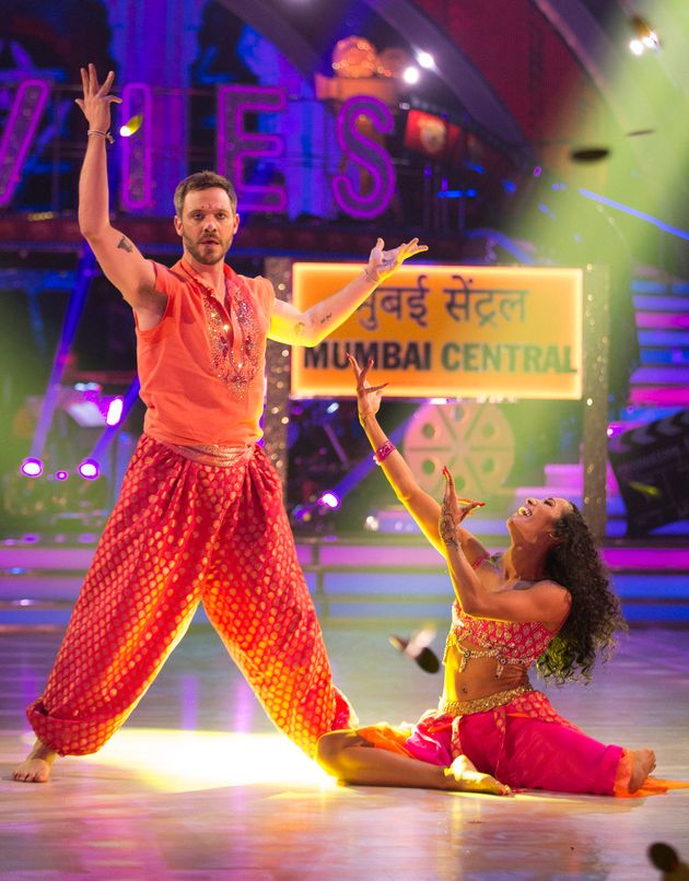 Will was partnered with Karen Clifton on the