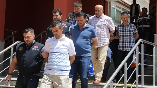 Academics are being taken to a prison in Bolu.