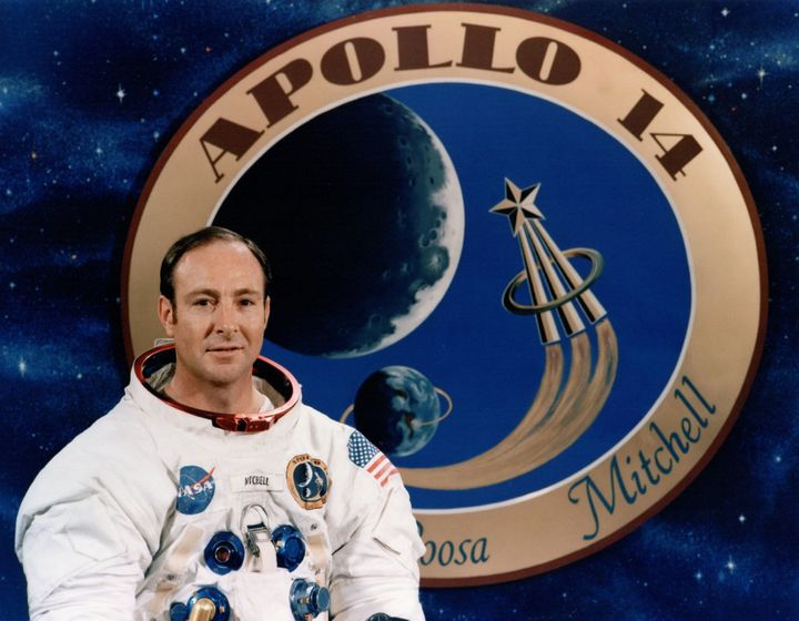 Apollo 14 astronaut Edgar Mitchell was the sixth man to walk on the moon.