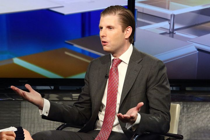 Eric Trump is wrong.