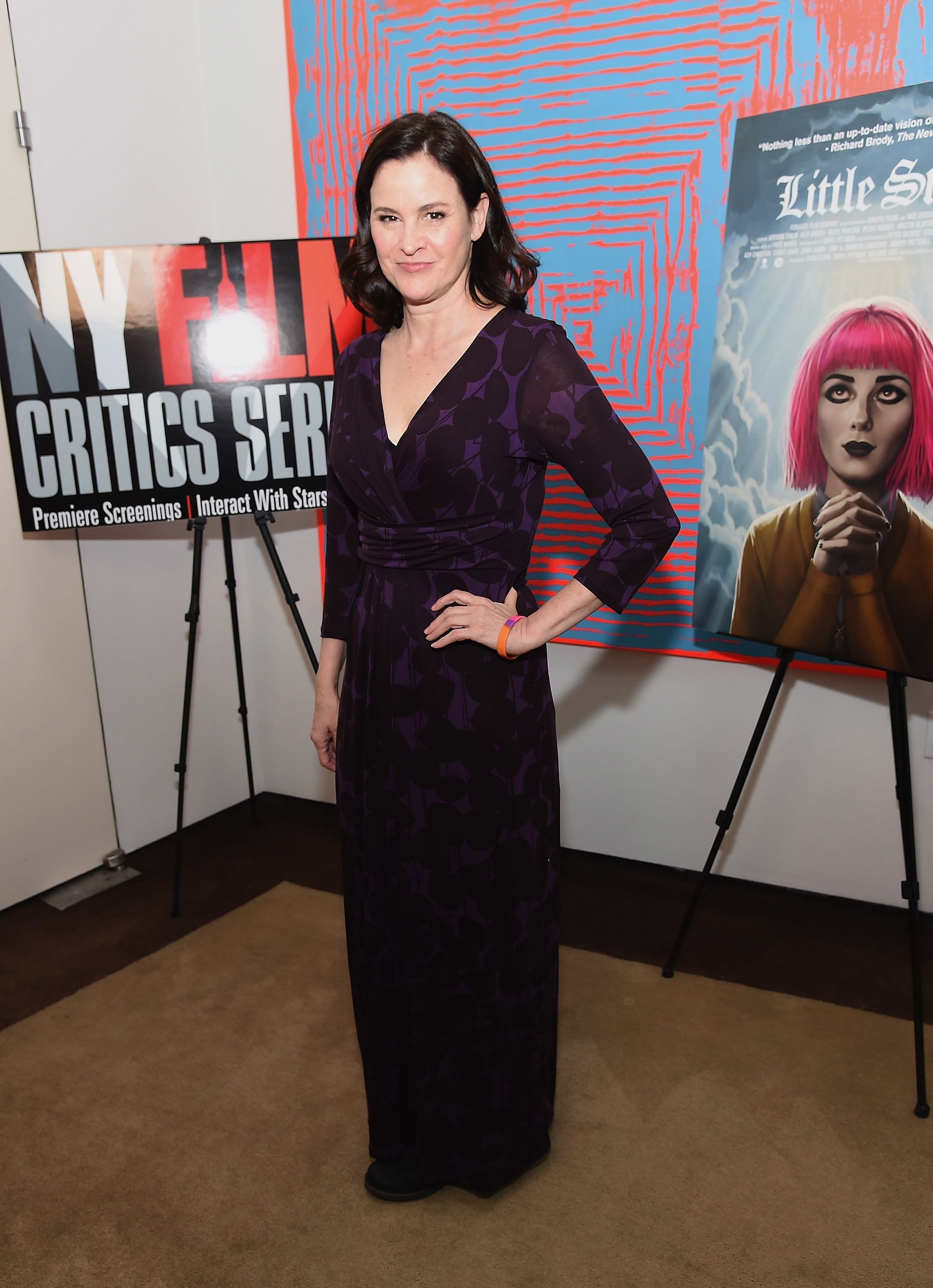 NEW YORK, NY - OCTOBER 05:  Actress Ally Sheedy attends the New York Film Critics series 'Little Sisters' Q&A at The Core Club on October 5, 2016 in New York City.  (Photo by Gary Gershoff/WireImage)