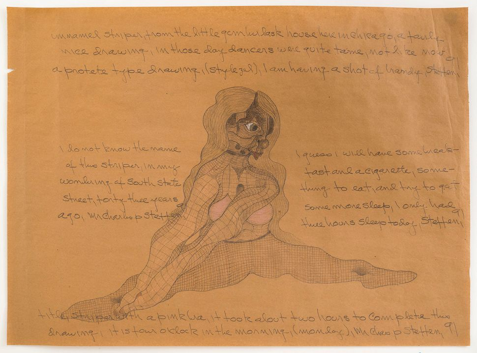 Artist Grappled With Schizophrenia Through Eerie Drawings Of