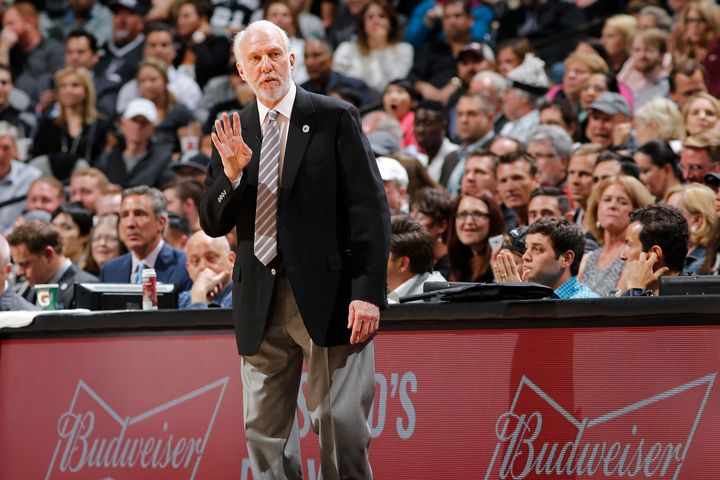 Gregg Popovich said before the 2016 season that he would support his players' decision to protest during the national anthem