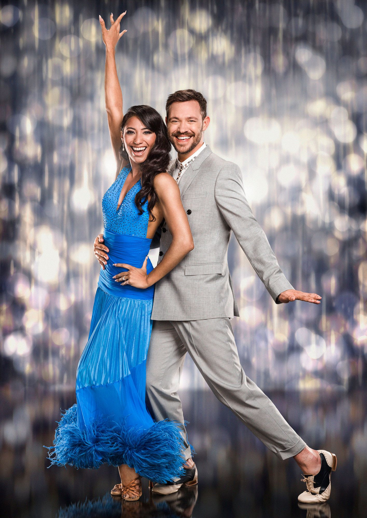 Will Young was partnered with Karen Clifton on