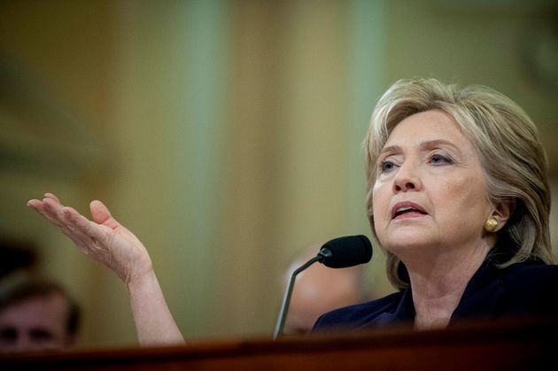 Hillary Clinton testified in an 11-hour hearing of the House Select Committee on