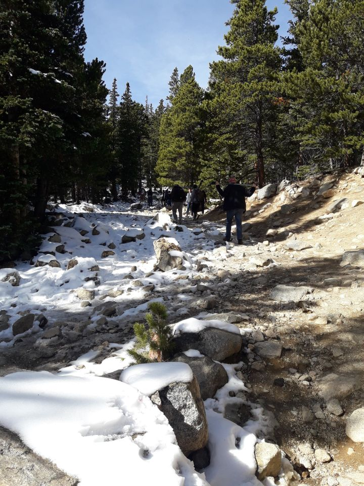 <p>Hike to St. Mary&#39;s Glacier</p>
