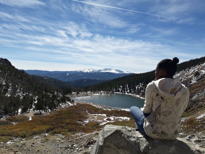 <p>View at the base of St. Mary&#39;s Glacier (Photo by Sarah Liberatore)</p>