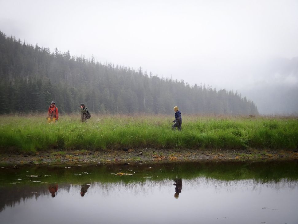 Oakes' field crew during their Alaskan research expedition in 2012.