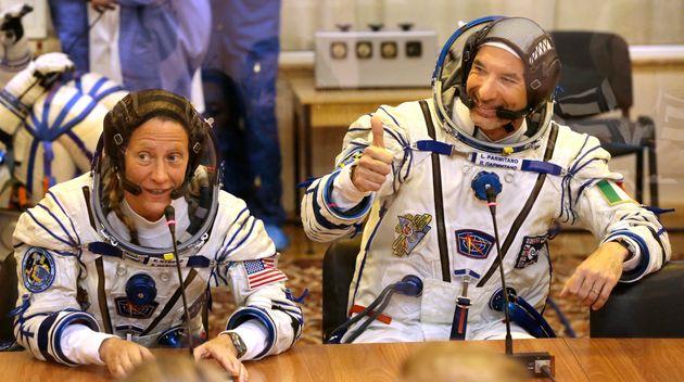 European Space Agency astronaut Luca Parmitano,