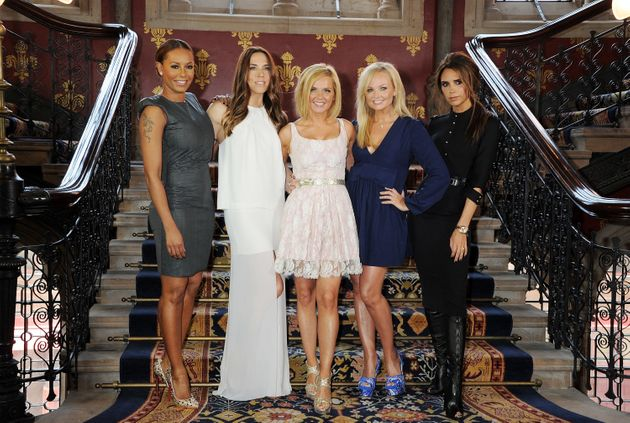 The most recent photo of the Spice Girls as a