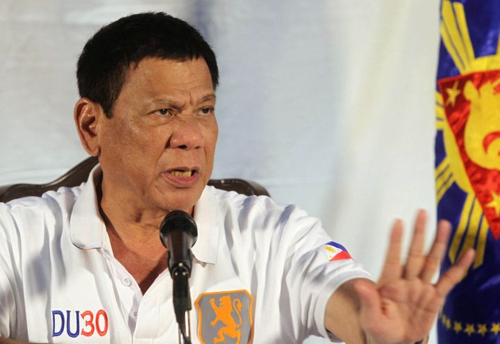 When Philippine President Rodrigo Duterte was mayor of Davao City, he reportedly once forced a man to stub out