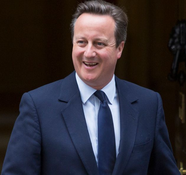David Cameron has revealed his first job since stepping down as