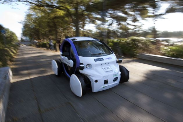 Driverless Car Tested On British Streets For The First