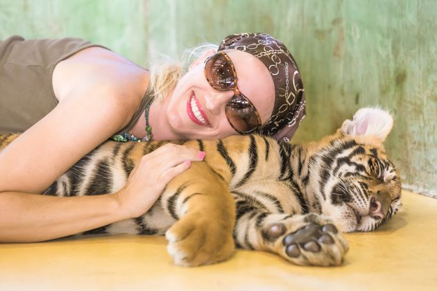 Tourist experiences where you can pet tigers will also no longer be available through Trip