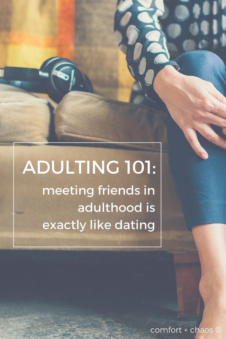 Dating as friends