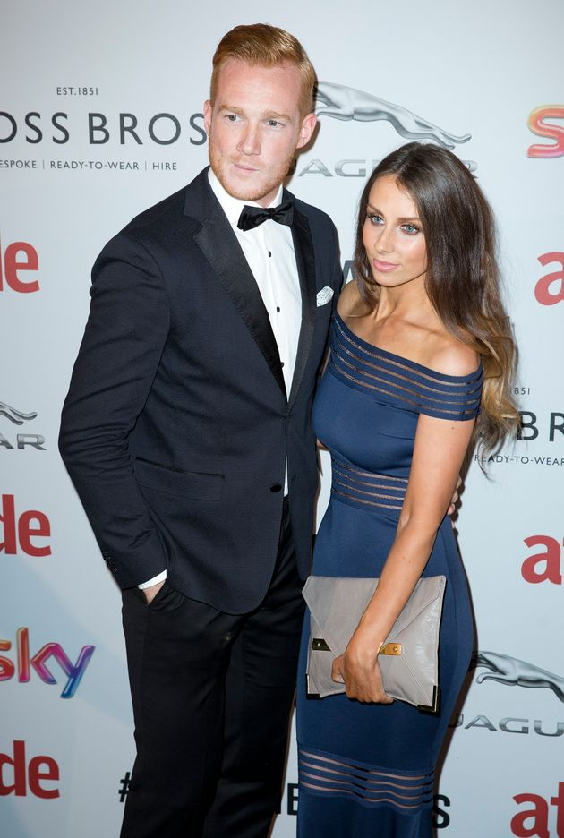 Greg Rutherford with girlfriend Susie