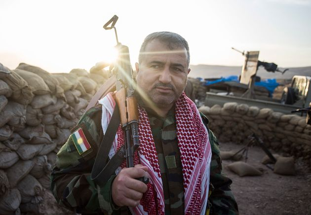 Peshmerga fighters stepped in, assuming greater power, after ISIS arrived in
