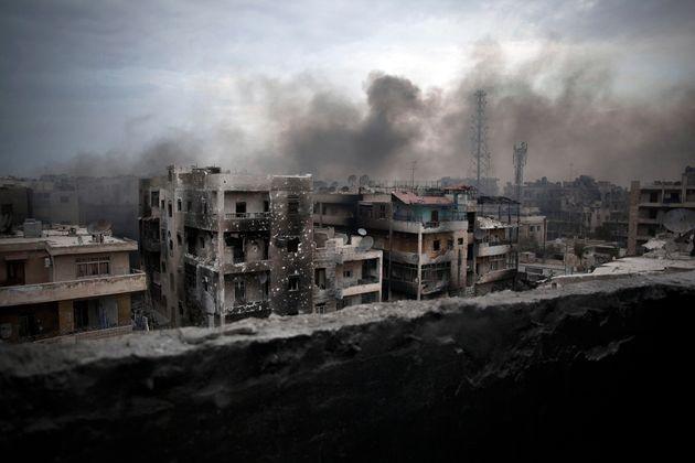 Aleppo under