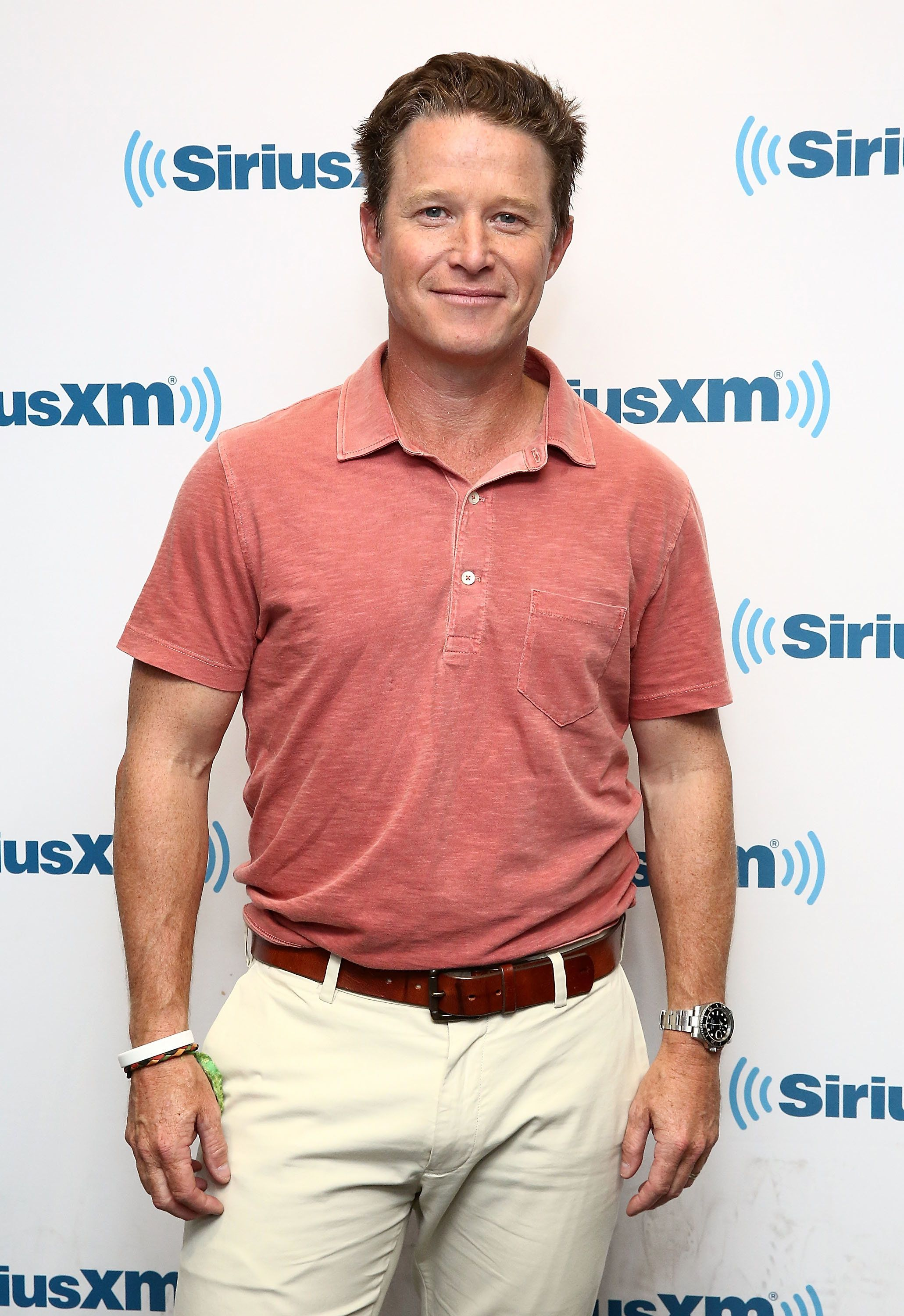 NEW YORK, NY - AUGUST 22:  (EXCLUSIVE COVERAGE)  TV personality and NBC's 'Today' show co-anchor, Billy Bush visits the SiriusXM Studios on August 22, 2016 in New York City.  (Photo by Astrid Stawiarz/Getty Images)