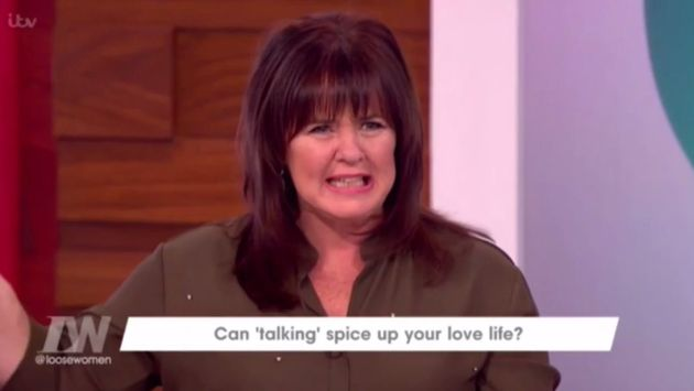 Coleen Nolan retold an embarrassing sex story on 'Loose