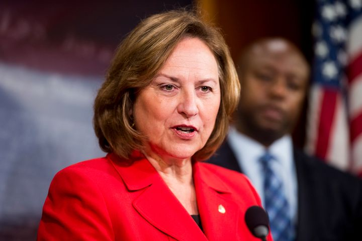 Sen. Deb Fischer says she plans to vote for Donald Trump on Election Day.