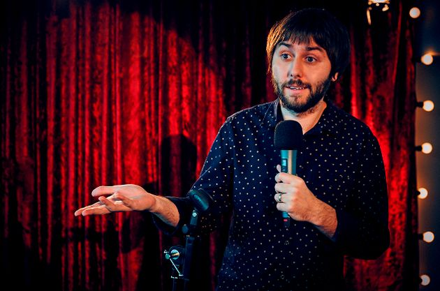 James Buckley stars in 'The Comedian's Guide to