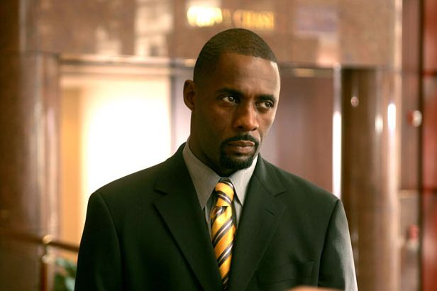 Idris as Stringer Bell in 'The Wire' that made his