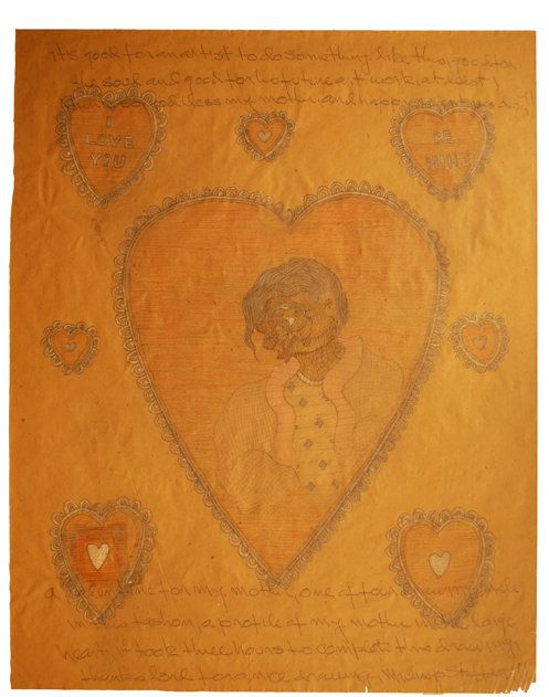 """""""Valentine For My Mother,"""" 1991"""