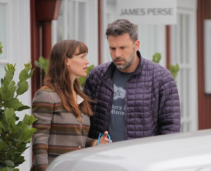 Affleck and Garner have frequently been spotted spending time with the kids since separating.
