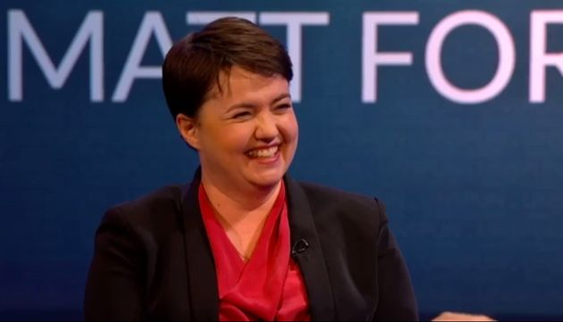 The Scottish Tories leader won plaudits for her hilarious