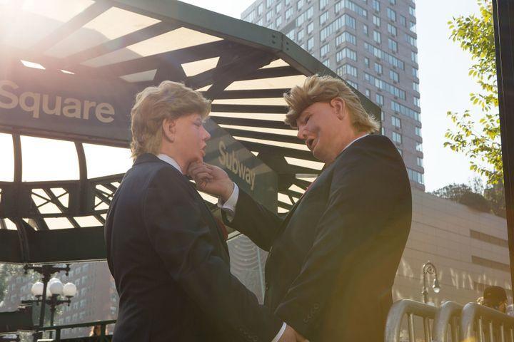"""Trump doesn't love America, he loves himself."""