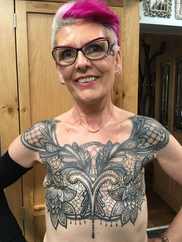 Woman s mastectomy tattoo shows 39 cancer doesn t always for Tattoos that last a year