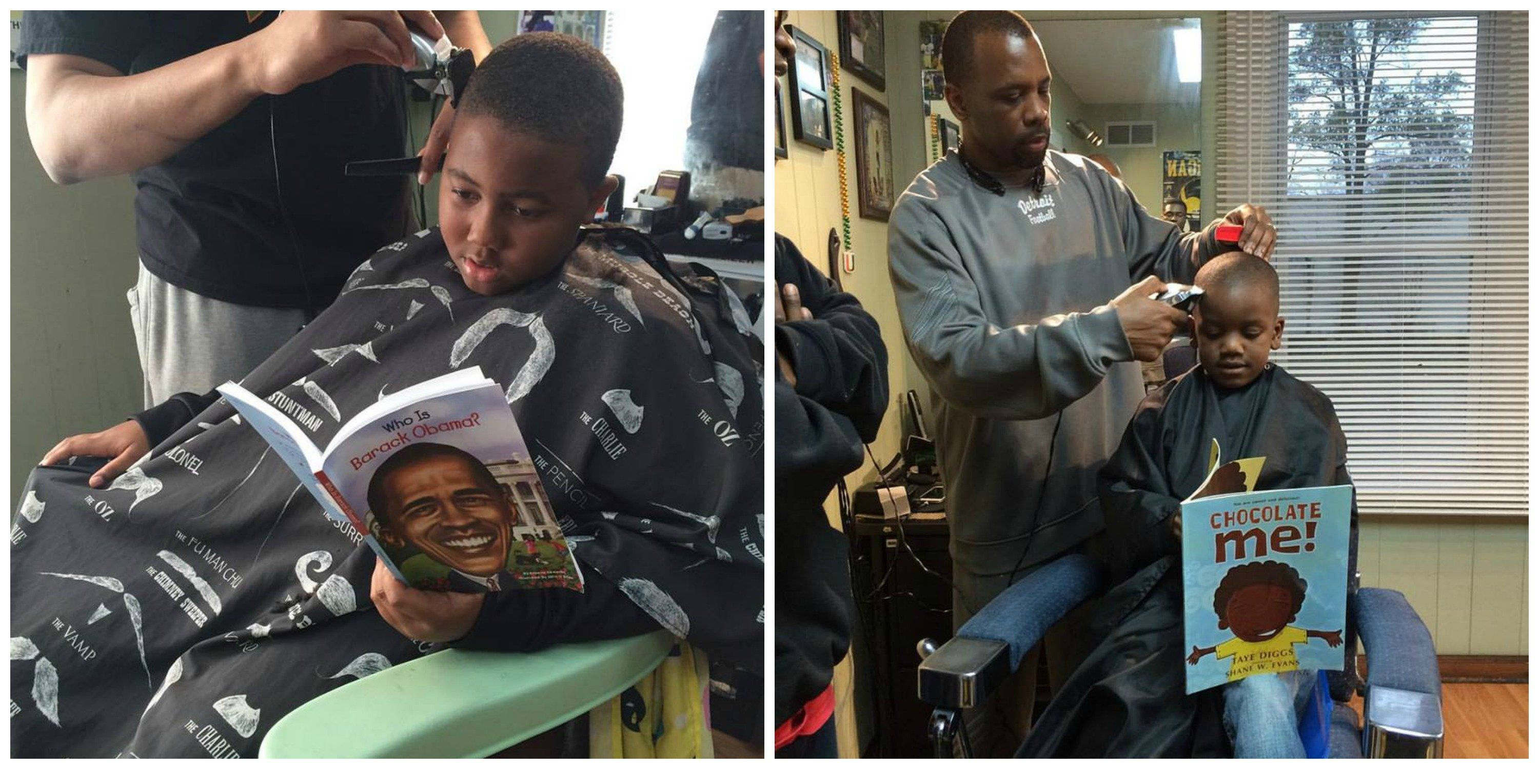 Barbershop Cuts Prices For Kids Who Read Aloud During