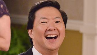 DR. KEN - 'Dr. Ken's Banquet Snub' - When a neighbor girl (guest star Zooey Jeong, Ken Jeong's real-life daughter) stands outside the kitchen window staring at Albert, Molly and D.K. try to scare her off. Meanwhile, Ken is surprised when he learns that Pat, instead of him, is asked to emcee this year's annual Welltopia banquet; and Clark and Damona debate relationship styles as it relates to their individual partners, on FRIDAY, OCTOBER 7 (8:31-9:00 p.m. EDT), on the ABC Television Network. (Lisa Rose/ABC via Getty Images) KEN JEONG
