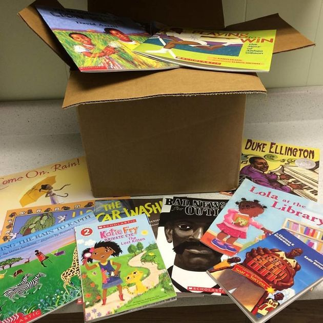 A generous donation from the Children's Literacy