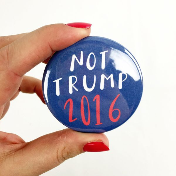 """$2.25 at <a href=""""https://www.etsy.com/listing/267976032/not-trump-button-225-pinback-button?ga_order=most_relevant&ga_se"""