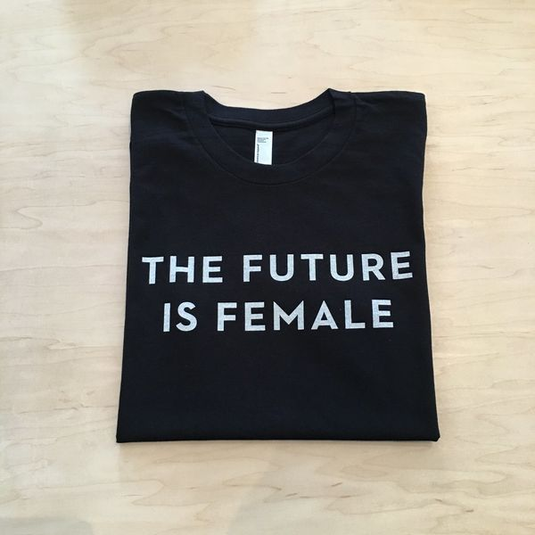 """$30 at <a href=""""http://otherwild.com/collections/t-shirts/products/the-future-is-female-t-shirt?variant=5122173569"""" target=""""_"""
