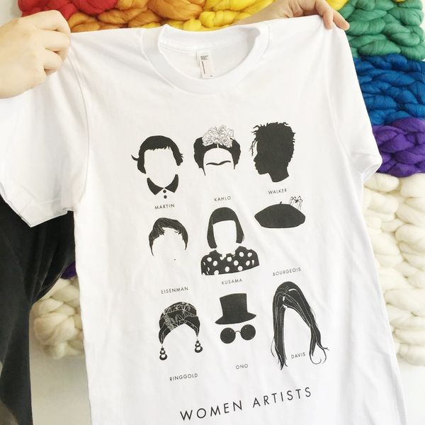 """$35 at <a href=""""http://otherwild.com/collections/t-shirts/products/women-artists-kids-t-shirts?variant=27226565889"""" target=""""_"""