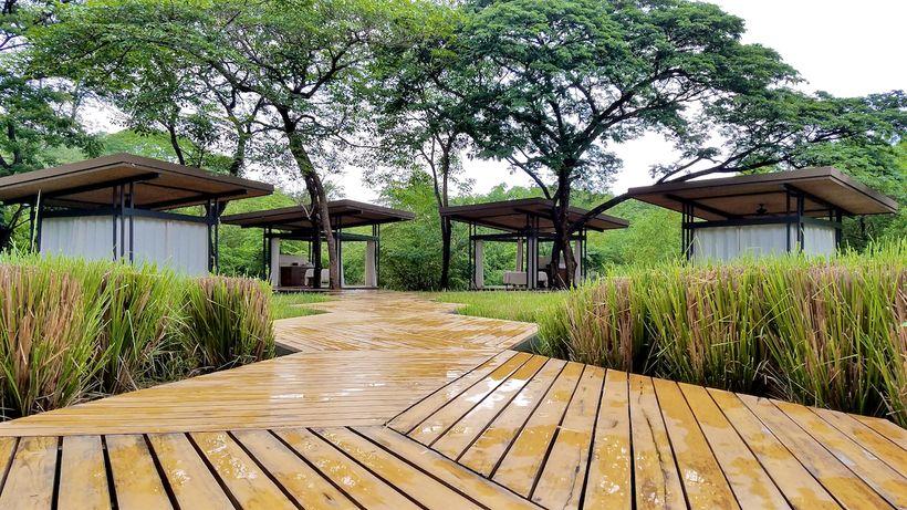 El Mangroove Bearth Spa outdoor treatment rooms