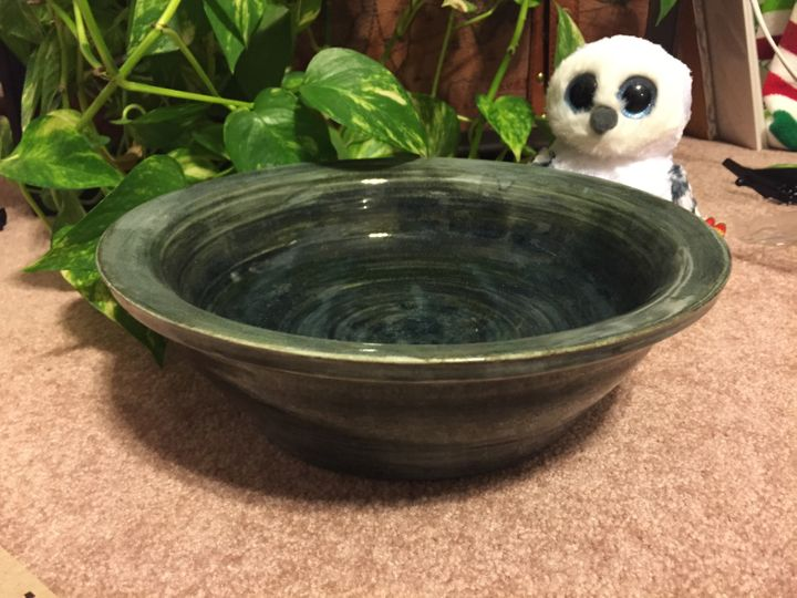 Matt took eight hours of pottery lessons to produce his DIY Pensieve basin.