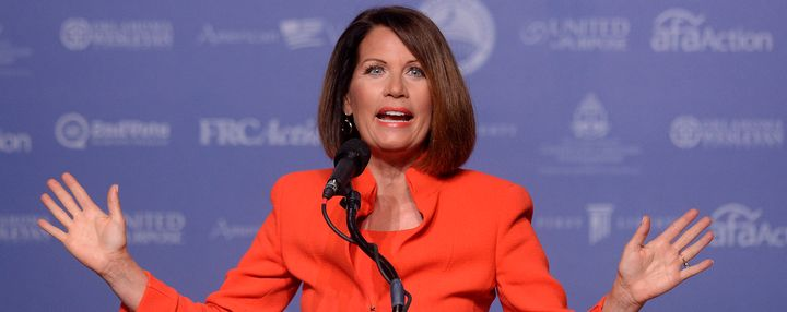 Michele Bachmann saysChristians need to vote for Donald Trump in orderto avoid a wave of sexual assaults.