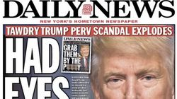 New York Daily News Calls Out Donald Trump's 'Perv