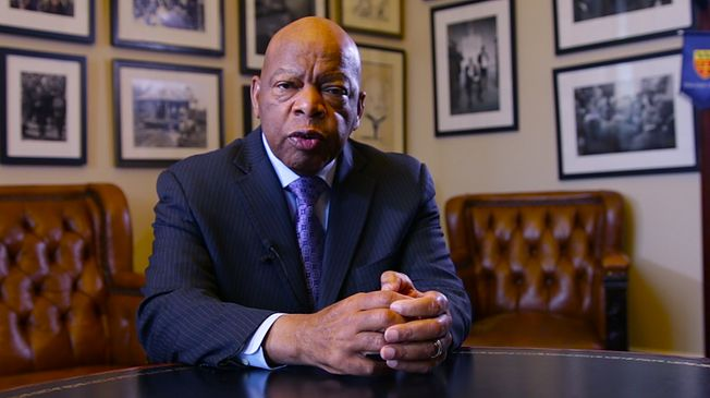 U.S. Rep. John Lewis chronicles the fight for voting rights.