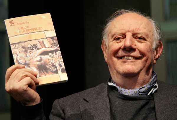 Italian playwright and actor Dario Fo, who won the Nobel prize for literature in 1997, died on Oct. 13, 2016. He was 90.