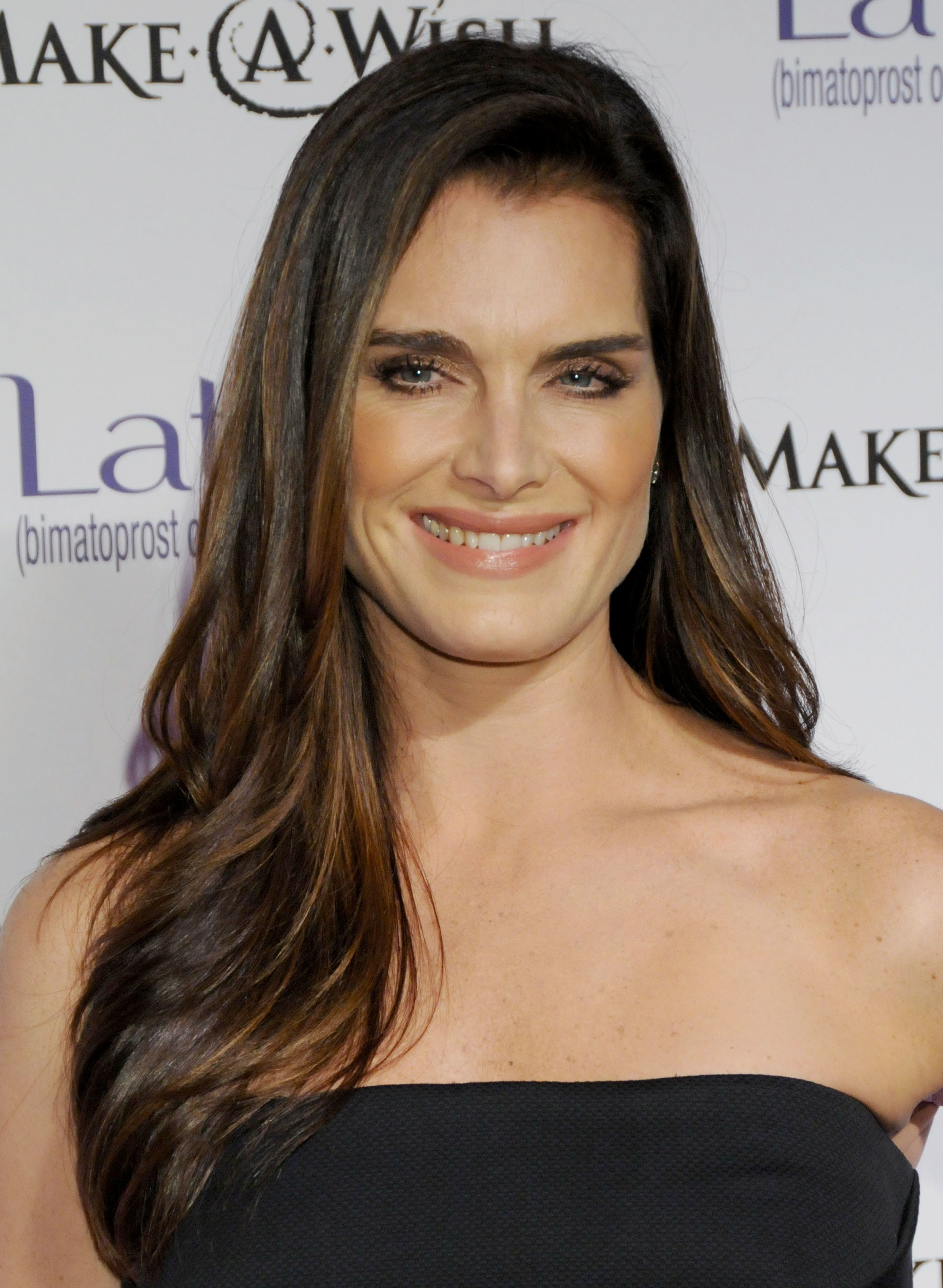 March 26, 2009 West Hollywood, Ca.; Brooke Shields; Launch Party for 'LATISSE' ; Held on La Cienega Blvd.  (Photo by Gregg DeGuire/FilmMagic)