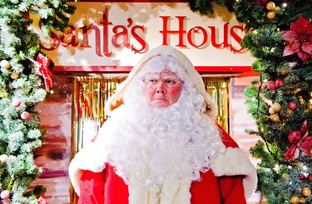 We don't have any pictures from the Christmas episodes, so have this vintage one of