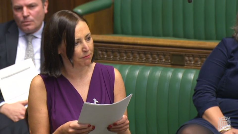 Vicky Foxcroft's Heartbreaking Speech About Death Of Her Baby Leaves MPs In
